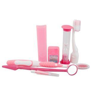 แปรงสีฟันออรัลแคร์ทันตกรรมจัดฟันฟันแปรงฟันชุดเครื่องมือทำความสะอาดปาก Interdental