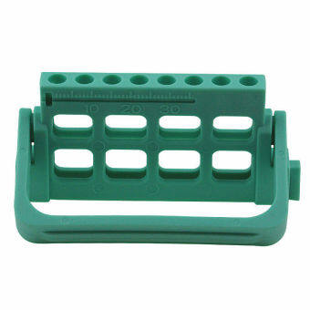 Autoclavable Plastic Dental Dispenser File Stand Holder Ruler Green - intl