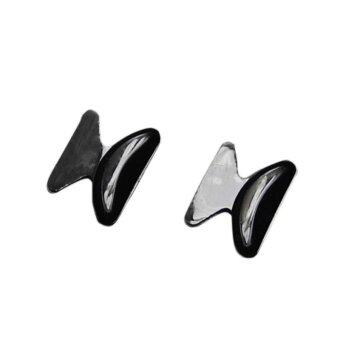 Buytra Eyeglass Anti-Slip Stick Silicone 5Pair Black
