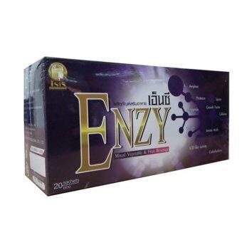 Enzy Enzyme เอ็นซี่ เอ็นไซม์ ผลิตภัณฑ์อาหารเสริมเพื่อสุขภาพ (1 กล่อง 20 ซอง)