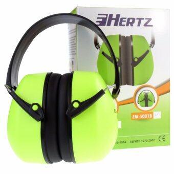 HERTZ EM5001B, HEAD BAND EAR MUFF (1 คู่) ที่ครอบหูลดเสียงแบบครอบศรีษะ