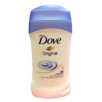Dove Anti-Perspirant Deodorant Invisible Solid Original Clean โดฟ โรลออนแบบแท่ง ระงับเหงื่อและกลิ่นกาย ทารักแร้ ทาเต่า #Original ( 1 แท่ง)
