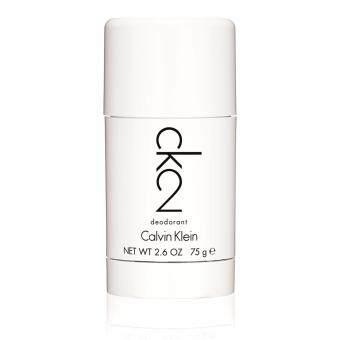 Calvin Klein ของแท้จากเค้าท์เตอร์ CK2 / CK TWO Deodorant Stick โรออน (Roll-on) ระงับกลิ่นกาย 75ml/2.6oz