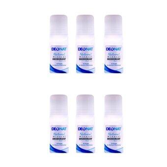 Deonat Natural Mineral Deodorant Roll On 65 Ml (3Pcs/Pack) - 2 Pack