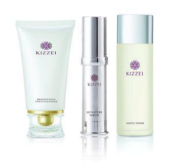 KIZZEI Set Serum + Cleanser + White Toner