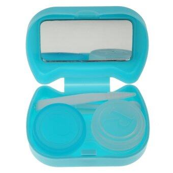 BolehDeals Pocket Contact Lens Case Travel Storage Kit Holder Container Box Blue