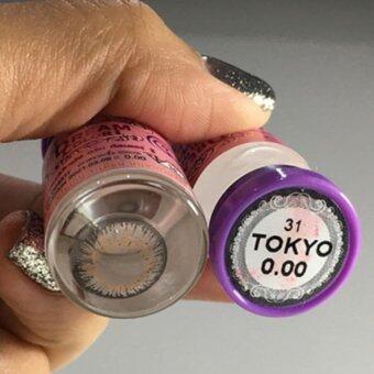 คอนแทคเลนส์ Mon Dreamcolor1 Tokyo Gray (ค่าสายตาตั้งแต่ 0.00-5.00) เลนส์นิ่มใส่สบาย แถมตลับใส่เลนส์ทุกกล่อง