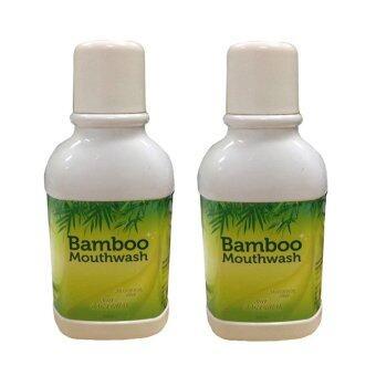 Bamboo Mouthwash น้ำยาบ้วนปากแบมบู 300 ml. * 2