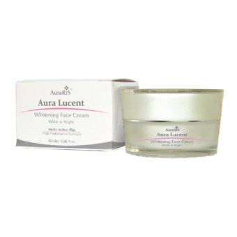 AuraRIS ครีมบำรุงผิวหน้า ครีมหน้าขาว ขาวสวยใส ลดสิว ฝ้า กระ จุดด่างดำ Whitening Face Cream 10 ml