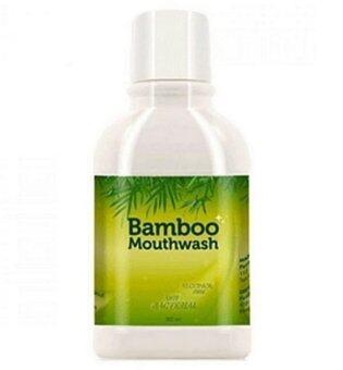Hylife Bamboo mouthwash น้ำยาบ้วนปาก ขจัดคราบหินปูน ชา กาแฟ (300 ml.) 1ขวด
