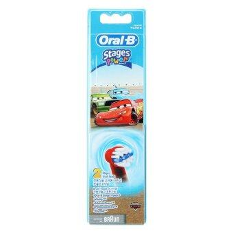Braun Oral-B EB10-2 Disney Car Kids Toothbrush Replacement BrushHead 1Pack(2PCS)