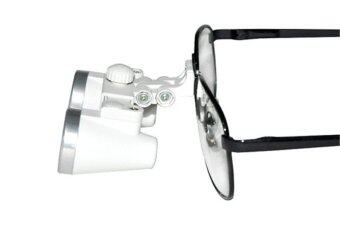 Steel Dentist Dental Surgical Medical Binocular Loupes 3.5 X 420mm Optical Glass Loupe