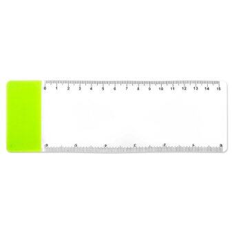 Pocket Ruler Bookmark - Transparent
