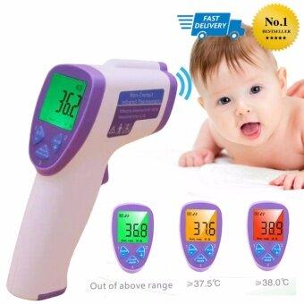 Infrared Thermometer เครื่องวัดอุณหภูมิระบบอินฟราเรด อุปกรณ์วัดไข้เด็กและผู้ใหญ่ เทอร์โมมิเตอร์วัดไข้ 4 in 1