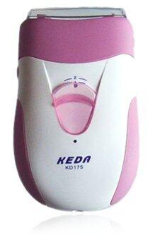 Keda เครื่องถอนขน เครื่องกำจัดขนสำหรับสตรี - สีชมพู