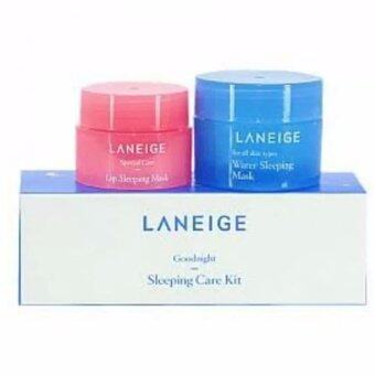Laneige Goodnight Sleeping Care Kit Set Water Sleeping Mask 15ml. & Lip Sleeping Mask 3g. (2 แต่ละ)
