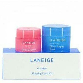 Laneige Goodnight Sleeping Care Kit Set (Water Sleeping Mask 15 ml.+Lip Sleeping Mask 3 g.)