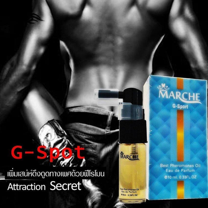 Mache G-Spot the Best Pheromones Oil EAU de Parfume Man มาร์เช โอรี่เลิฟ น้ำหอม ฟีโรโมน เพิ่มการดึงดูด ความสนใจ จาก เพศตรงข้าม ช่วยเป็นแรงดึงดูดอารมณ์ ความรู้สึก ความต้องการ ความรักใคร่ ของหญิงและชายนั่นเอง 1 ขวด บรรจุ 10 ml. 12 ชิ้น
