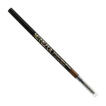 Merrezca Perfect brow Pencil ดินสอเขียนคิ้ว เมอร์เรซก้า #Brown