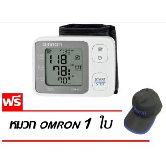 OMRON เครื่องวัดความดันโลหิตแบบดิจิตอล รุ่น HEM-6131 (แถมฟรีหมวก Omron 1 ใบ )