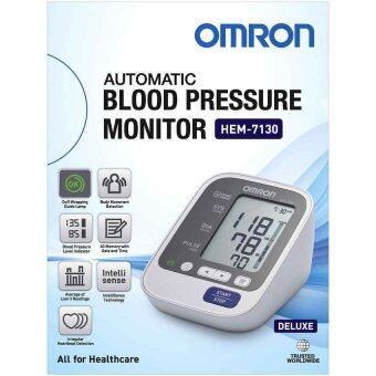 Omron เครื่องวัดความดัน รุ่น HEM-7130 และ Accu-Chek Performa เครื่องตรวจน้ำตาลในเลือด แถมฟรี Adapter + แถบตรวจและเข็มเจาะ อย่างละ 25 ชิ้น/กล่อง มูลค่า 590 บาท