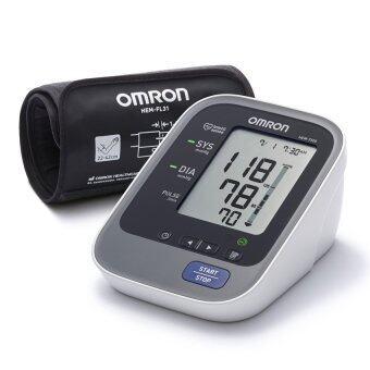 Omron เครื่องวัดความดัน HEM-7320 รุ่น Ultra Premium พร้อม Adapter กระเป๋าใส่เครื่อง รับประกัน 3 ปี
