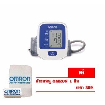 OMRON เครื่องวัดความดัน รุ่น HEM-8712(+ผ้าขนหนู OMRON)