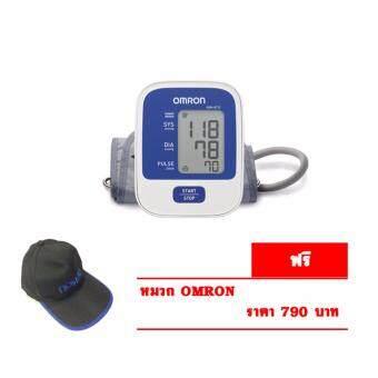 OMRON เครื่องวัดความดัน รุ่น HEM-8712(+หมวก OMRON)