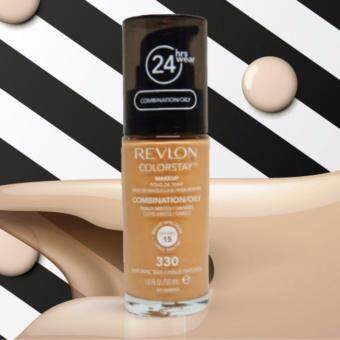 รองพื้นเรฟลอน REVLON COLORSTAY เบอร์ 330 Natural Tan (ผลิตปี 2560)