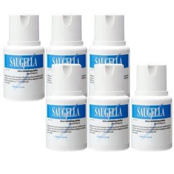 Saugella Dermoliquido pH 3.5 ซอลเจลล่า เดอร์โมลิควิด 100ml (6ขวด)