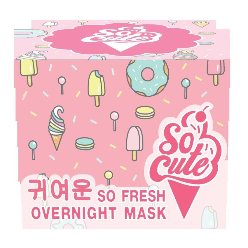 Socute Overnight mask ...