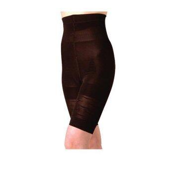 Super Body GERMA Burning Shape (Super Burn) กางเกงเอวสูง สลายไขมัน - Black