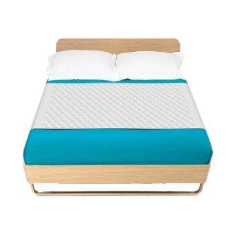 Supersorber แผ่นรองซับเตียงคู่พร้อมผ้าสอดใต้เตียง ไซส์ XL 170 x 90 ซม.