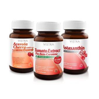 VISTRA Good Skin Set (Astaxanthin30+Tomato30+Ace45)