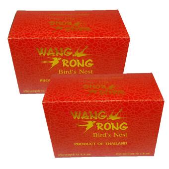 Wang Rong รังนกแท้พร้อมดื่ม (กล่อง 6ขวด x2)