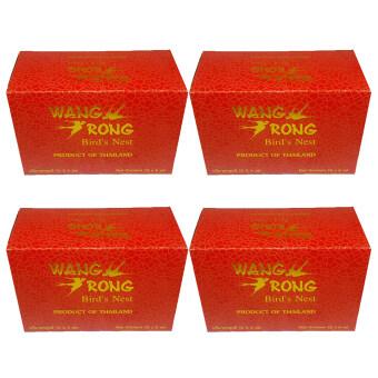 Wang Rong รังนกแท้พร้อมดื่ม (กล่อง 6ขวดx4)