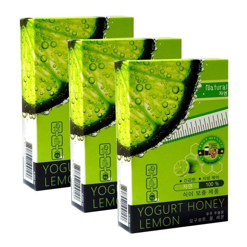 Yogurt Honey Lemon Koreaอาหารเสริมลดน้ำหนัก3กล่อง(10เม็ด/กล่อง) ...