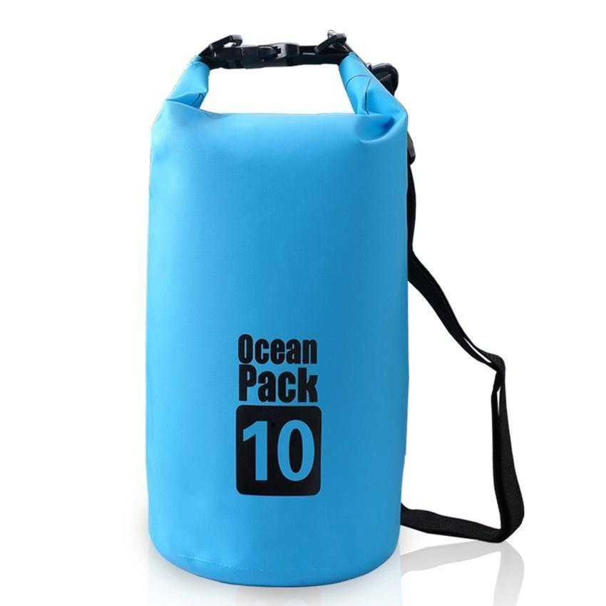 10L Outdoor Water-Resistant Dry Bag Sack Storage Bag for Travelling Rafting Boating Kaya .