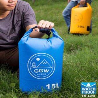 กระเป๋ากันน้ำ 15L : สีน้ำเงิน