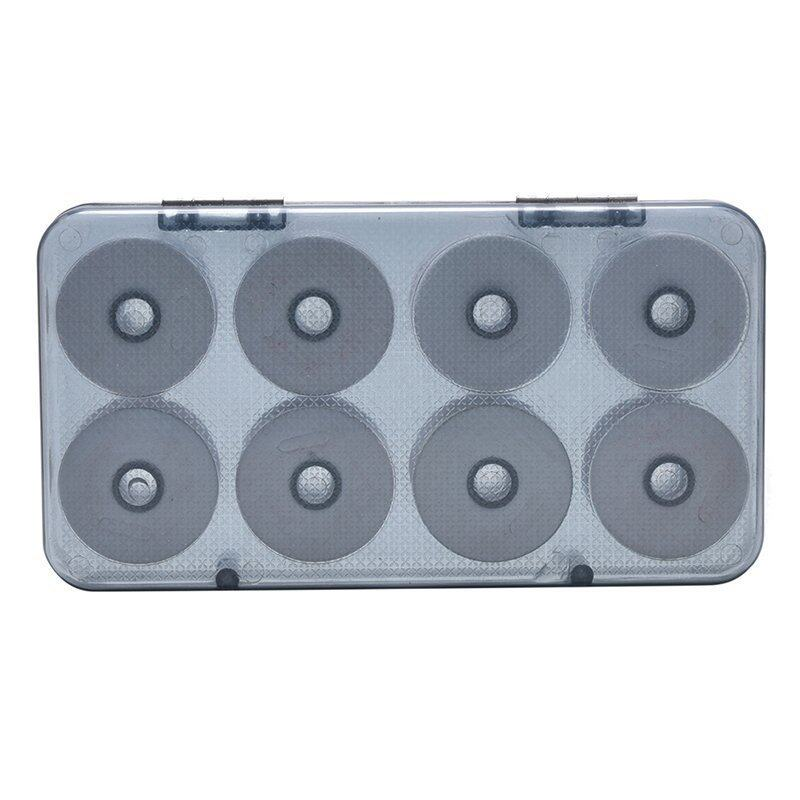 16Pcs Fishing Line Shaft Box Coil Storage Circular Shaft Fishing Tackle Gear - intl ...