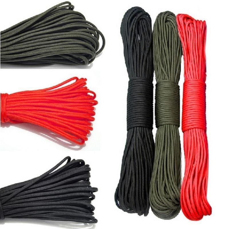 1Pc 31m Outdoor Camping Parachute Rope Survival Single Core Strand Rope - intl ...