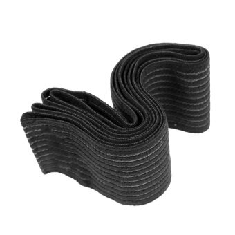 2 X Black Knee Wrap Power Weight Lifting Squats Support