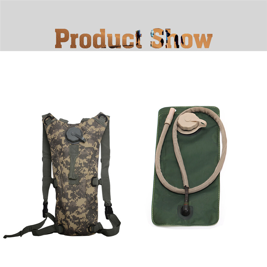 2016 Best Quality Tactical Military Outdoor Molle Water Bottle Pouch Bag 3L( ACU)