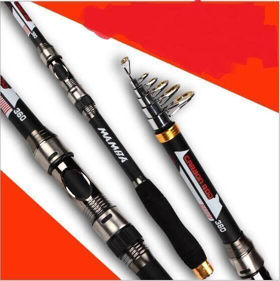 3 6m Whale Super Light Portable Carbon Fishing Rod Rocker Reel Source · 2NE1 3 6m Sea pole Carbon Epoxy Grease Fishing Rods Black intl