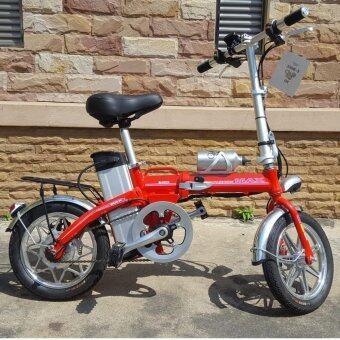 จักรยานไฟฟ้าพับได้ 3D e-bike folding #1 (สีแดง)
