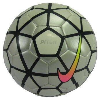 ลูกฟุตบอลหนังเย็บ เบอร์ 5 NIKE 2790-104 PITCH PREMIER LEAGUE ขาวดำ