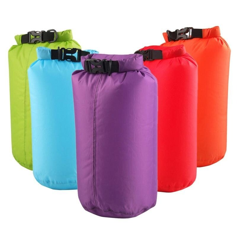 8L Outdoor Waterproof Canoe Swimming Camping Hiking Backpack Dry Bag Pouch - Camouflage .