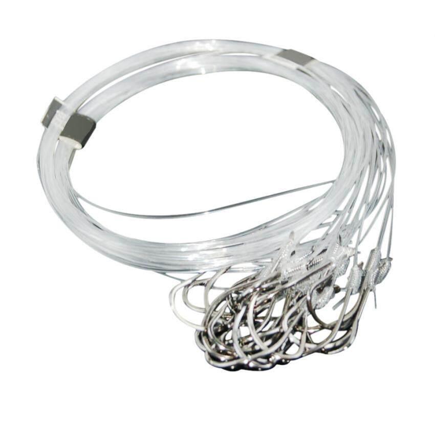96Pcs Fishhook Tackle Worm Jig Lead Head Bait Carbon #13 ...