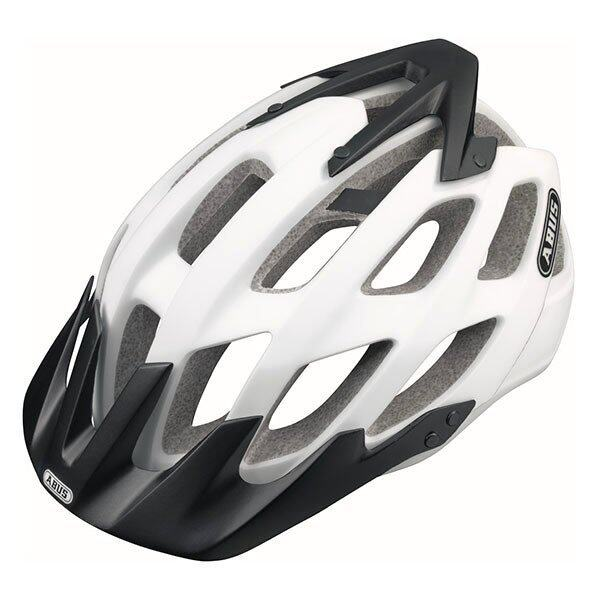 ABUS HELMET HILL BILL POLAT MATT(522178) - WHITE