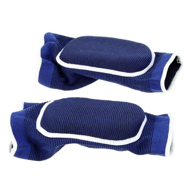 AngAng สนับเข่าเสริมฟองน้ำ (2 ชิ้น/แพ็ค) - สีน้ำเงิน